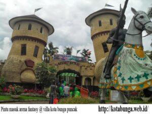 arena fantasy kota bunga
