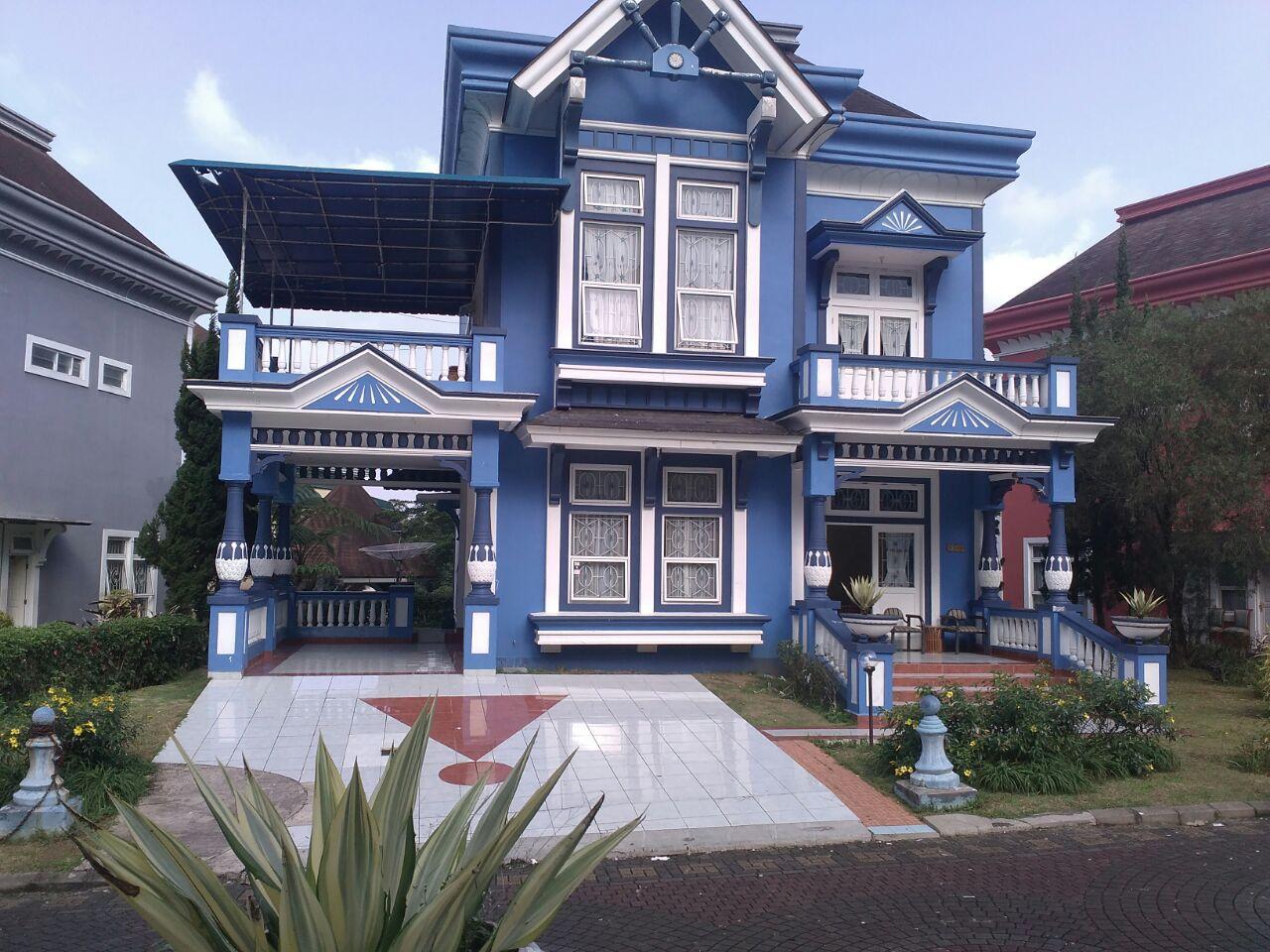 Sewa villa kota bunga 5 kamar type Quen elisabeth