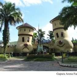 Arena Fantasy Kota Bunga Puncak, Tempat Wahana Permainan Anak