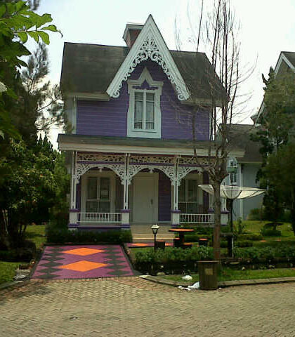 villa kota bunga type nothingham