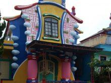 villa kota bunga puncak type Cartoon 2 kamar tidur