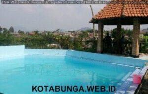 Sewa villa murah di puncak ada kolam renang 2 kamar, Villa Sarip