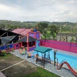 Villa Galih 8 kamar – sewa villa murah di puncak ada kolam renang 20-60 orang